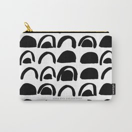 Abstract Half Moons Carry-All Pouch