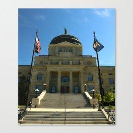 Montana State Capitol Canvas Print