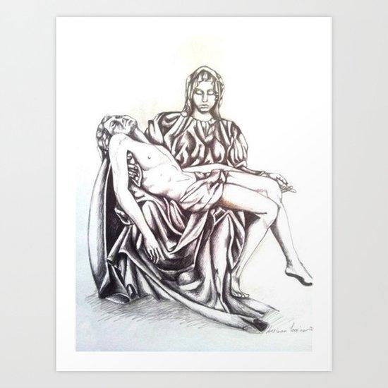 Piety Art Print