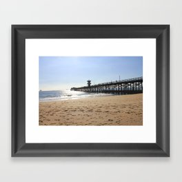 CA Pier  Framed Art Print