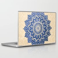 teagan white Laptop & iPad Skins featuring ókshirahm sky mandala by Peter Patrick Barreda