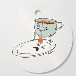 Tea Baggin' Cutting Board