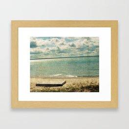 Deserted Island Framed Art Print