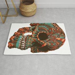 Ornate Skull (Color Version) Rug