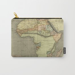 Africa Old Map Carry-All Pouch