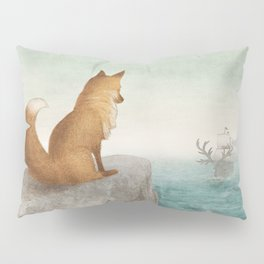 The Day the Antlered Ship Arrived Pillow Sham
