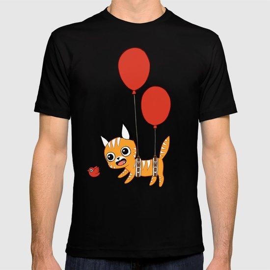 Balloon Cat T-shirt