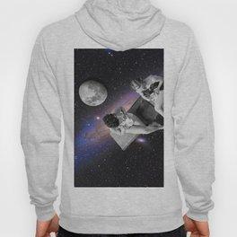 hangin in space Hoody