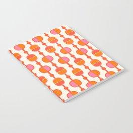 Mid Century Retro Dots Notebook
