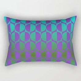 1974, violet and green Rectangular Pillow