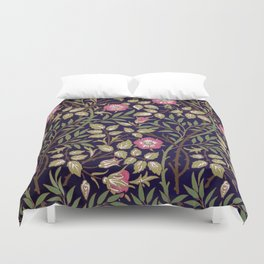 William Morris Sweet Briar Floral Art Nouveau Duvet Cover