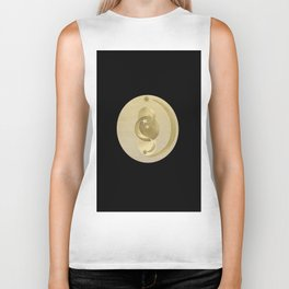 Black Gold Moon and Stars #1 #decor #art #society6 Biker Tank