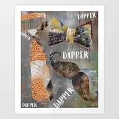 Dapper Art Print