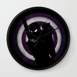 SuperHeroes Shadows : Hawkeye Wall Clock