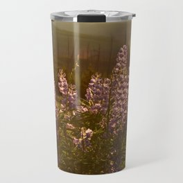 sunset lupin Travel Mug