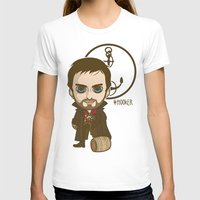 hook T-shirts featuring Captain Hook by Samtronika