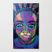 asia Canvas Prints featuring Asia by Sara Taxén