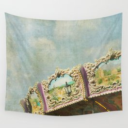 Joy Meets Sky Wall Tapestry