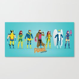 Pixel Mutants Canvas Print