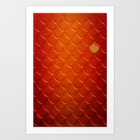 smaug Art Prints featuring Smaug by sevillaseas
