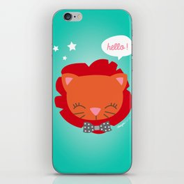 Lion - Collection Dandynimo's - iPhone Skin