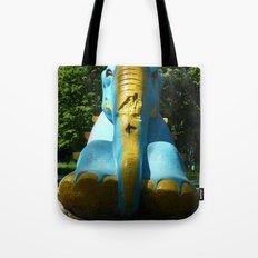 Stone elephant. Tote Bag