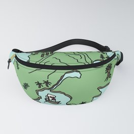to live will be an awfully big adventure Fanny Pack