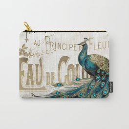 Peacock Jewels Carry-All Pouch