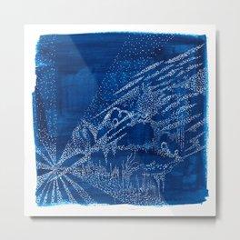 A Blue Night Metal Print