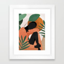 Tropical Girl 10 Framed Art Print