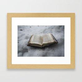 Book's little world Framed Art Print