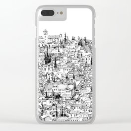Albaicin View from the Alhambra, Granada, Spain Clear iPhone Case