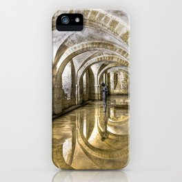 Winchester Cathedral Crypt iPhone Case