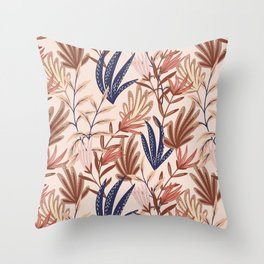 Simple shapes nature  Throw Pillow