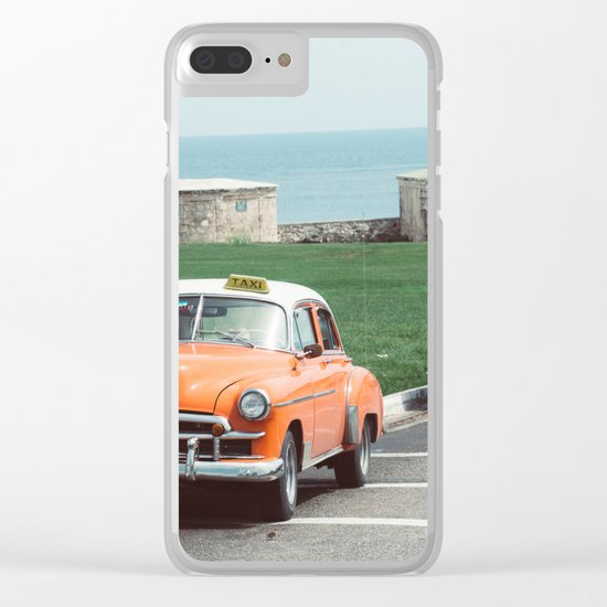 You Talkin' to ME?? Clear iPhone Case