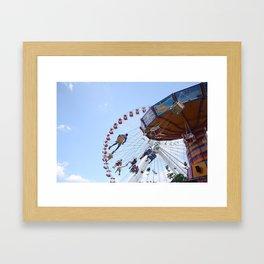 Centripetal motion Framed Art Print