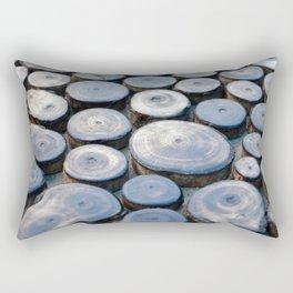 Wooden surface Rectangular Pillow