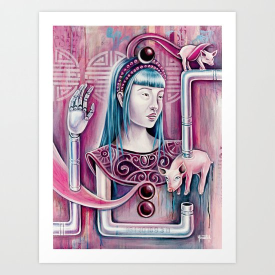Vow of Chastity Art Print