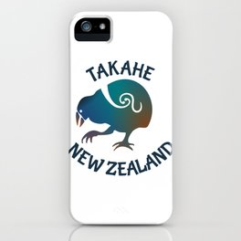 TAKAHE New Zealand Native bird iPhone Case