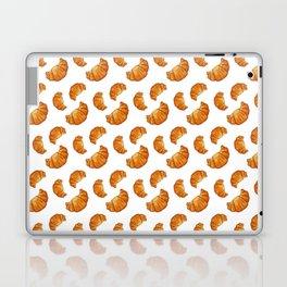 watercolor croissant Laptop & iPad Skin