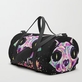 Cat skull Duffle Bag