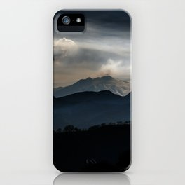 Vulcan Etna iPhone Case