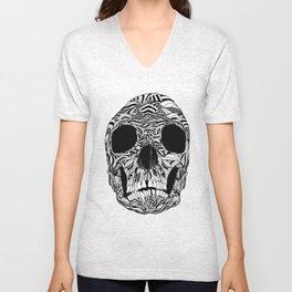 The Carved Skull Unisex V-Neck