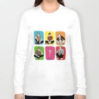 """band Long Sleeve T-shirts featuring """" Rainbow band """" by Karu Kara"""