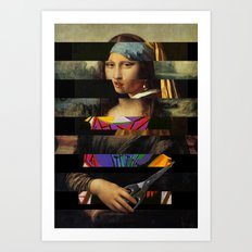 Mona´s Mix 2  Art Print