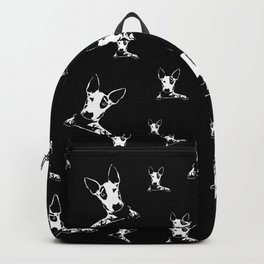bull terrier dog Backpack
