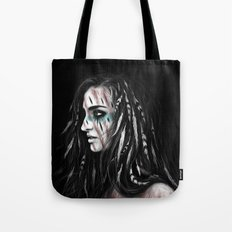 Feathers and Shadows Tote Bag