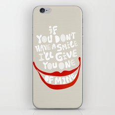 Have a smile! iPhone Skin