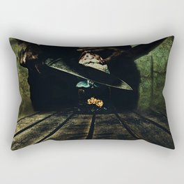 Gnome Alert Rectangular Pillow