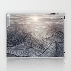 Lines in the mountains X Laptop & iPad Skin